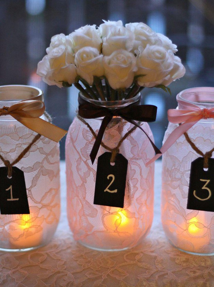37 Stunning Wedding Candle Centerpieces | Table Decorating Ideas