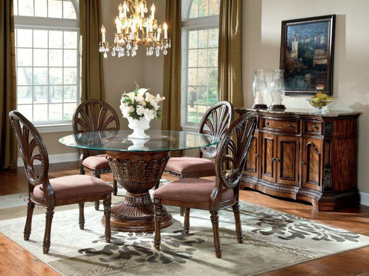 39 Modern Glass Dining Room Table Ideas Table Decorating