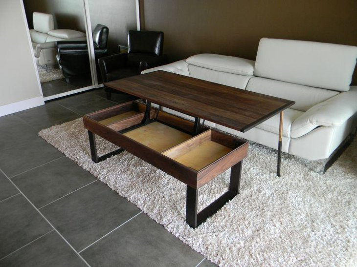 Lift Top Coffee Table Diy.35 Creative Lift Top Coffee Table Ideas