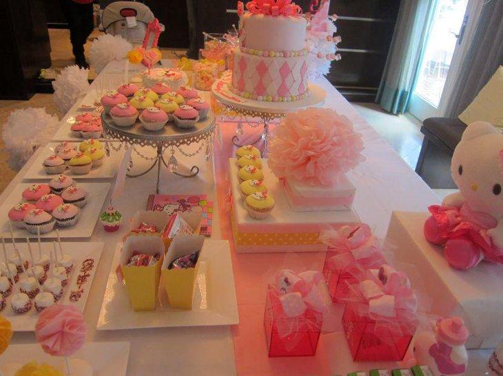 33 Hello Kitty Birthday Party Ideas Table Decorating Ideas