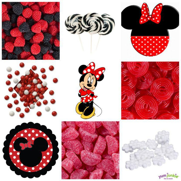 Yummy Minnie Mouse candy ideas